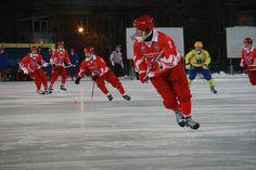 """Хоккейная команда """"Уральский трубник""""Фото из архива редакции"""