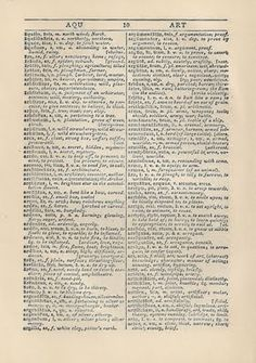 Vintage Printable Dictionary Pages FREE