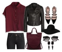 """""""."""" by erixx ❤ liked on Polyvore featuring Chicwish, Tom Ford, Elliott Lucca, H&M, Zara and Monki"""