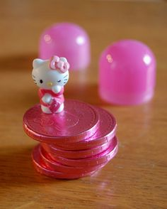 Hello Kitty chocolate coins