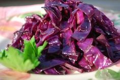 Braised Red Cabbage & Balsamic Vinegar