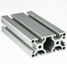 4080 EC Aluminum Profile Extrusion 40 Series, Aluminum Tube Length 1 Meter