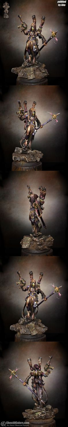 Painted in 2008. Bronze in Warhammer 40.000 Single Model category at Golden Demon Poland 2008