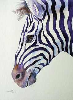 I find this Zebra extremely suave and handsome. This is one from my Purple Stripes series.In this series I explore the mystery of the beautiful Zebra stripes.When Zebras move in their herds, the ...
