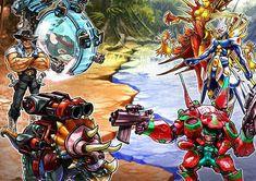 Gladiators, Genetics, Anime, Painting, Art, Art Background, Painting Art, Kunst, Cartoon Movies