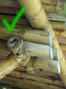 Ejemplo positivo Bamboo Architecture, Architecture Design, Bamboo Restaurant, Concrete Cover, Bamboo Roman Shades, Bamboo Fountain, Bamboo Building, Bamboo Structure, Bamboo Construction