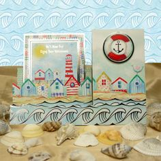 Beside the Seaside Members' Free Gift by Hunkydory Crafts. Join Club Hunkydory to claim your kit