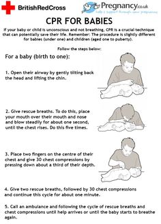 CPR for babies!