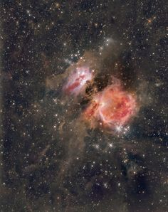 Orion Nebula by Simon W js