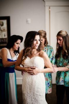 Stella York Wedding Dress | The Milestone Aubrey Mansion | Natalie Gore and James Casey Wedding Day