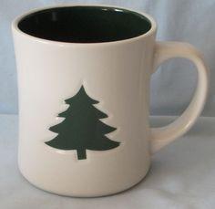 Starbucks Mug 2008 Embossed Green Tree Starbucks Christmas, Starbucks Mugs, Green Trees, Baby Items, Coffee Mugs, Tableware, Ebay, Shopping, Dinnerware