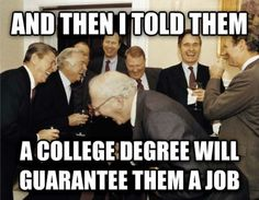 ANd then i told them...