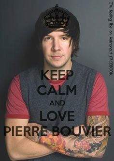 Keep Calm and Love Pierre Bouvier World Map App, Keep Calm And Love, Save My Life, Music Bands, Punk Rock, We Heart It, How To Plan, Shit Happens, Galleries