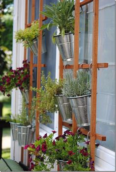Hanging Herb Garden Ideas look at these tiny (and adorable!) gardens that fit in any