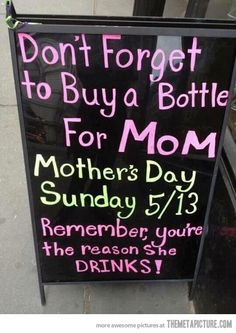Don't forget about mom…