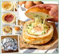 Breakfast Bread Bowl
