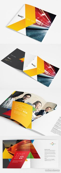 26 Best and Creative Brochure Design Ideas for your inspiration | Read full…