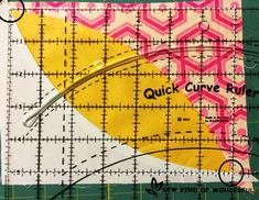 Squaring up your block with the Quick Curve Ruler