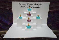 DeviantArt: More Like Pop up Diwali cards 5 by writetopaint Deepavali Greetings Cards, Diwali Cards, Diwali Diy, Diwali Gifts, Happy Diwali, Diya Decoration Ideas, Diwali Decorations, School Decorations, Handmade Diwali Greeting Cards