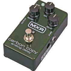 MXR M169 Carbon Copy Analog Delay Guitar Effects Pedal $149