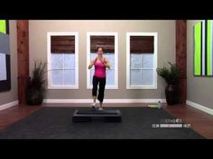 Step aerobics beginner workout with Dana - 30 Minutes - YouTube