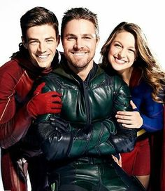 Love the crossovers.. The Flash, Arrow and Supergirl