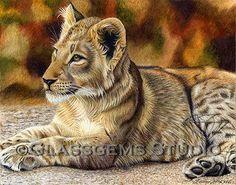 Gemma Gylling, CPSA - Glassgems Studio  colored pencil artist