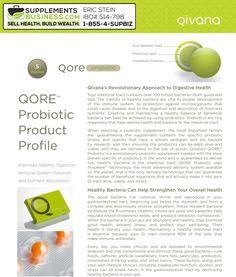 Qivana Probiotics + Qivana Qore Probiotic & Product Reviews by Supplements Business via Slideshare