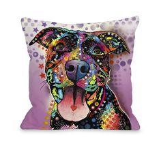 Doggy Décor Ms. Understood Throw Pillow