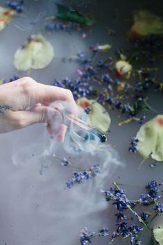 Ritual Bath - Calming Bath With Coconut Milk and Flowers. + Ritual Bath - Calming Bath With Coconut Milk and Flowers. Spiritual Bath, Bath Photography, Product Photography, Bath Recipes, Floral Bath, Relaxing Bath, Milk Bath, Bath Soak, Coconut Milk