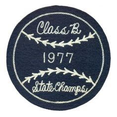 #vintage #sportpatch #patch #baseball #chainstitch #champs #1977 #letterman…