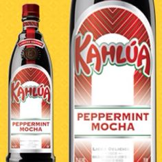 Peppermint Mocha Kahula...someone please get this for me! DELICIOUS !!!