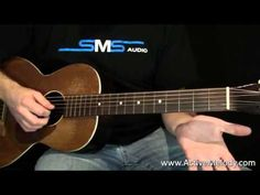 Acoustic Blues Guitar Lesson - YouTube