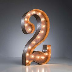 "I love this!!! (27) Fab.com | ""2"" Marquee Light"