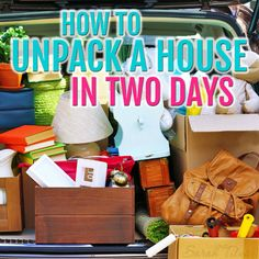 Moving tips from an expert!