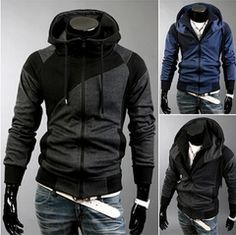 Mens Edgy Baggy Hoodie | Mens Hot Hoodies | Pinterest