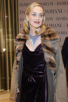 Sharon Stone in Damiani