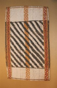D.R.Congo,  Mbole Losa panel  32,5 x 55 cm - 12,75 x 21,5 inches,  WICKER