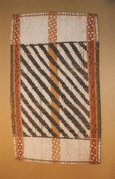 D.R.Congo,  Mbole Losa panel  32,5 x 55 cm - 12,75 x 21,5 inches,  WICKER