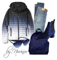 """""""Blue magique"""" by nurinur ❤ liked on Polyvore featuring Citizens of Humanity, Gap, Kendall + Kylie and Nanette Lepore"""