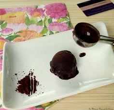 Sorbet au cacao Make Ice Cream, Homemade Ice Cream, Sorbet, Cacao, Gelato, Pudding, Desserts, Food, Ice Cream Sandwiches