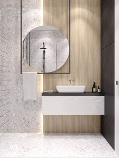 zen Bathroom Decor Kitchen designed by arteim_studio – Marble Bathroom Dreams Zen Bathroom Design, Bathroom Interior Design, Modern Bathroom, Small Bathroom, Bathroom Ideas, Contemporary Bathrooms, Small Toilet Room, Bathroom Grey, Interior Livingroom