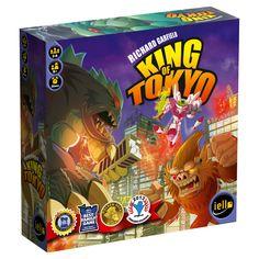 Iello Games - King of Tokyo, Board Games - Amazon Canada
