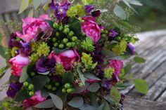 flower design, bouquet, rose, yves piaget, sweet pea