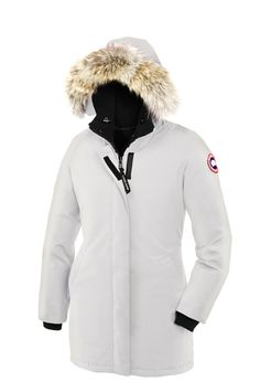 Ladies Canada Goose' Thompson Duck Down Jacket Black Coat Insulated Fur