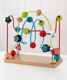 Classic Toys Noise Maker Leadingstar Wooden Cube Bead Maze Roller Coaster With Shape Sorter Clock Knock Piano Kids Learning Educational Counting Toys To Rank First Among Similar Products