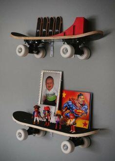 Skateboard shelves.  Very cool.
