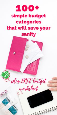 categories budget simple budgeting save sanity tips figure