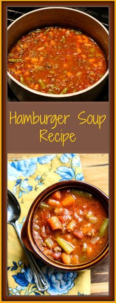 Hamburger Soup Recipe Replace ketchup with tomato sauce?