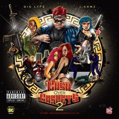 """Once again back with another classic mixtape, Pittsburgh's own Big Lyfe delievers a knockout blow with """" Cash over caskets 2 """""""